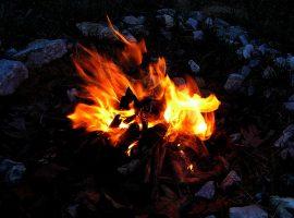 Mum Şömine Ateş